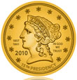 Buchanan Liberty First Spouse Gold Coin