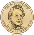 James Buchanan Presidential $1 Coin