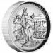 2014 Australian Kangaroo Silver High Relief Coin
