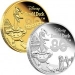 Disney – 80th Anniversary of Donald Duck Gold and Silver Coins