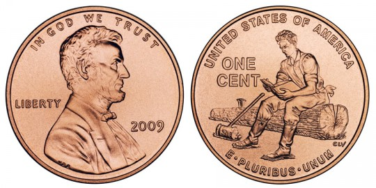 2009 Lincoln Cent Formative Years - click on image to enlarge