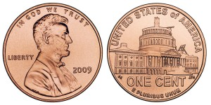 The 2009 Lincoln Presidency Cent is one of the coins set for release this Fall - Click to Enlarge