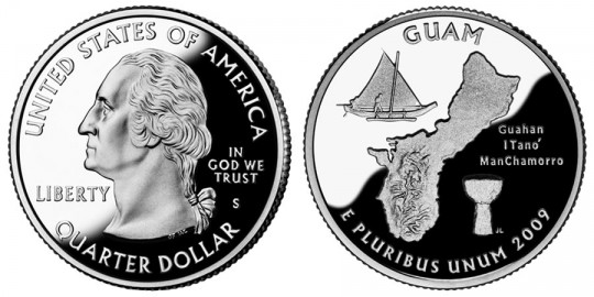Guam Quarter Proof- click on image to enlarge