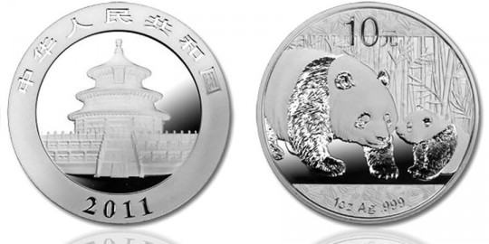 2011 Chinese Panda Silver Bullion Coin