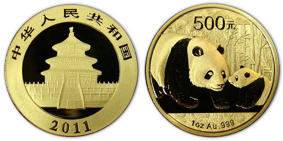 Chinese Panda Gold Bullion Coin World Mint Coins