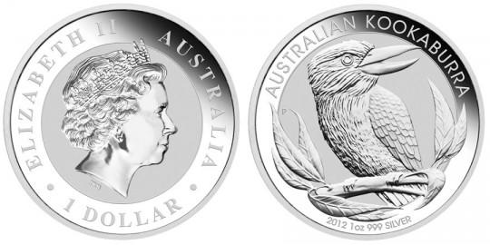 2012 Australian Silver Kookaburra Coin (Perth Mint images)