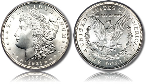Silver-Morgan-Dollar