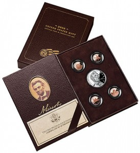 United States Mint Lincoln Coin and Chronicles Set - Click to Enlarge