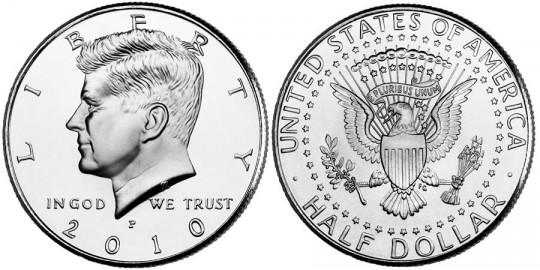 Kennedy Half Dollar Coin World Mint Coins