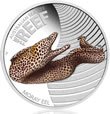 2010 Moray Eel 1/2 Oz Silver Proof Coin