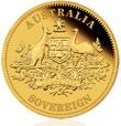 2010 Perth Mint Gold Proof Sovereign Coin