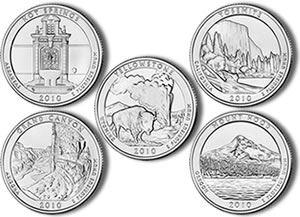 2010 America the Beautiful Silver Bullion Coins