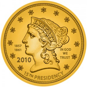 Buchanan's Liberty Gold Coin
