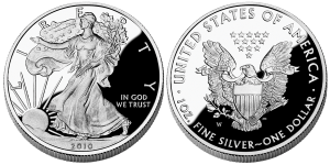 2010 Proof Silver American Eagle