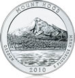 Mount Hood National Forest Silver Uncirculated Coin
