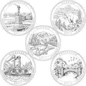 2011 America the Beautiful Coins