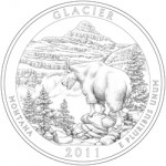 2011 Glacier National Park Quarter, reverse