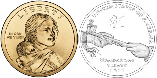 2011 Native American $1 Coin