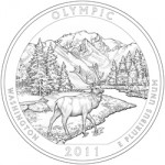 2011 Olympic National Park Quarter, reverse