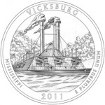 2011 Vicksburg National Military Park Quarter, reverse