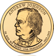Andrew Johnson Presidential $1
