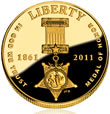 Medal of Honor Commemorative $5 Gold Coin
