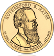 Rutherford B Hayes Presidential $1 Coin