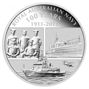 Royal Australian Navy Silver Proof Coin