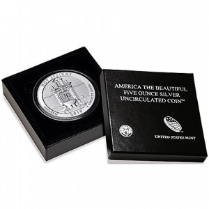 2010 Hot Springs 5 Oz Silver Uncirculated Coin (US Mint image)