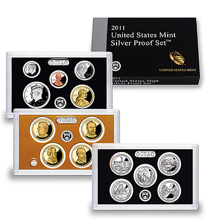 2011 US Mint Silver Proof Set (US Mint image)