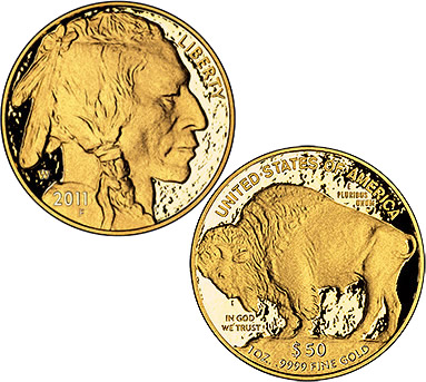 2011 American Buffalo Gold Proof Coin (US Mint images)
