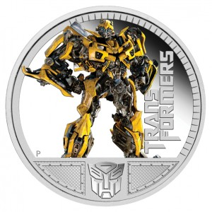 2011 Transformers Bumblebee Silver Proof Coin