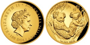 2011 Australian Koala Gold Proof 1 Oz. Coin (Perth Mint images)