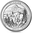 Glacier National Park Silver Uncirculated Coin