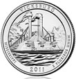 Vicksburg National Military Park Silver Uncirculated Coin