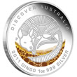 2011 Dingo Silver Proof Coin