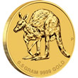 2011 Mini Roo 0.5g Gold Coin