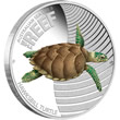 2011 Hawksbill Turtle Silver Proof Coin
