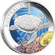 2011 Jellyfish Silver Proof Coin