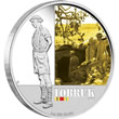 2011 Famous Battles Tobruk Silver Proof Coin