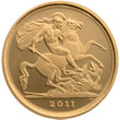 2011 UK Gold Proof Quarter Sovereign