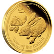 2011 Year of the Rabbit Gold Proof Coin