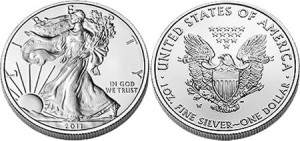 2011 American Eagle Silver Uncirculated Coin (US Mint image)