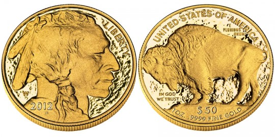 2012 America Buffalo Gold Proof Coin (US Mint images)