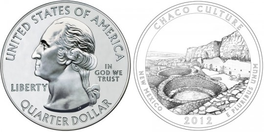2012 Chaco Culture America the Beautiful Silver Bullion Coin (US Mint images)