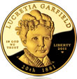 Lucretia Garfield First Spouse Gold Coin