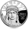 2012 Eagle Platinum Proof Coin