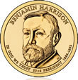 Harrison Presidential $1 Coin