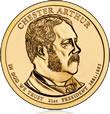 Arthur Presidential $1 Coin