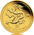 2012 Dragon Gold Proof Coin